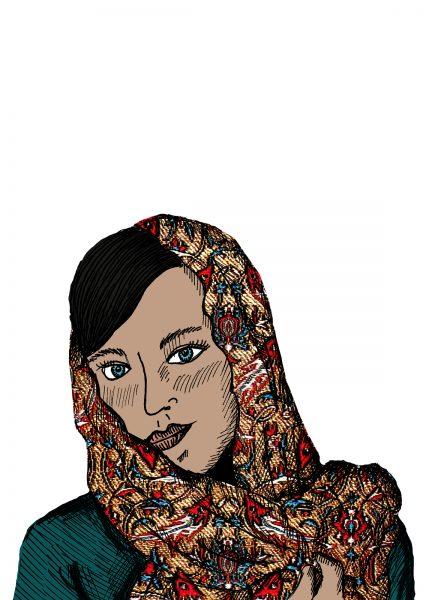 Iranian Woman Portrait