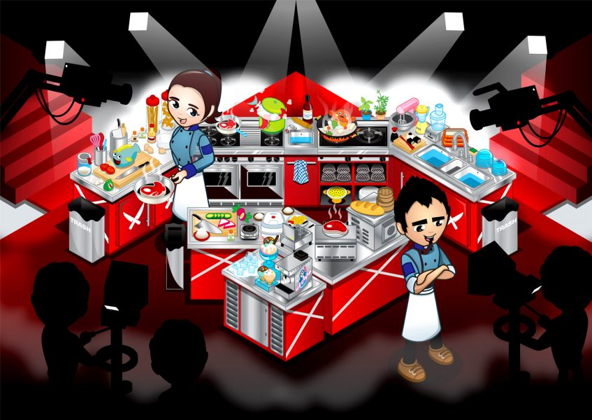 Iron Chef Kitchen