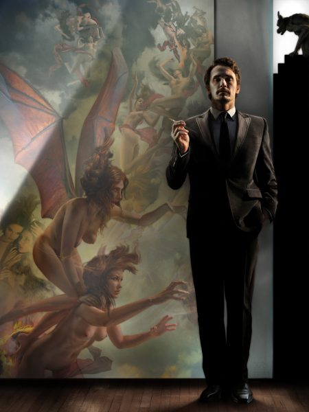 James Franco With Nemesis &; The Erinyes