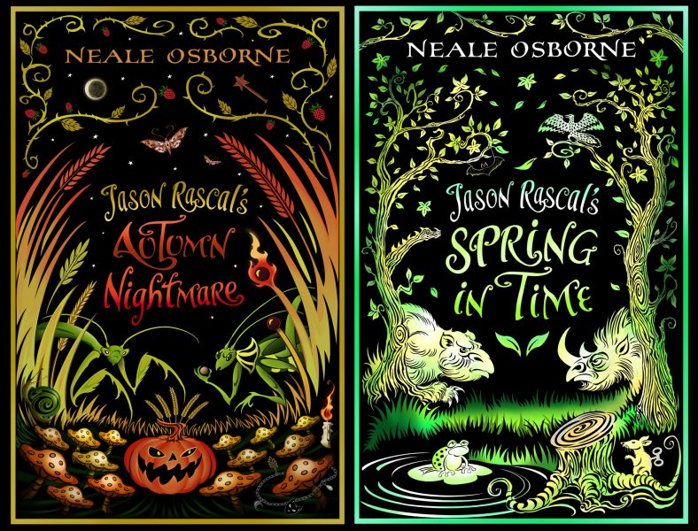 Jason Rascal book covers