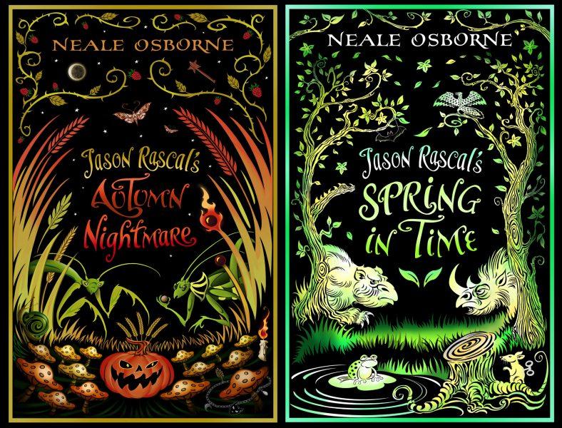 Jason Rascal book covers