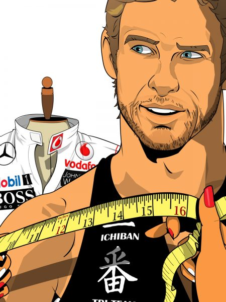 Jenson Button for SportsWeek
