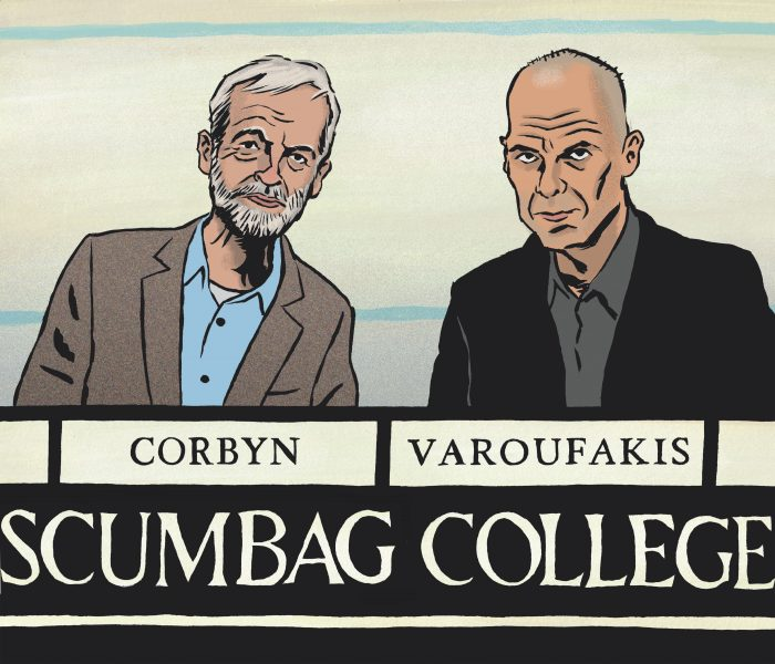 Jeremy Corbyn for Times Higher Ed