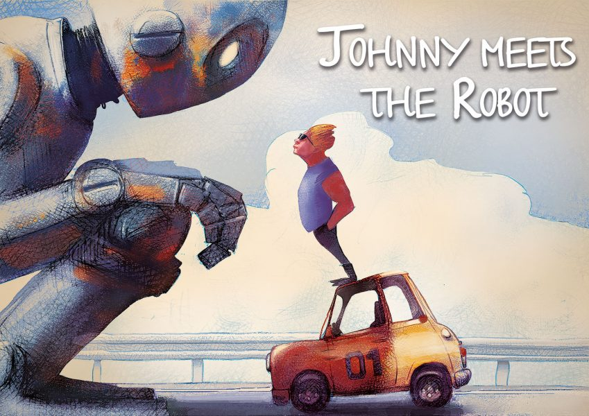 Johnny-meets-the-robot 2