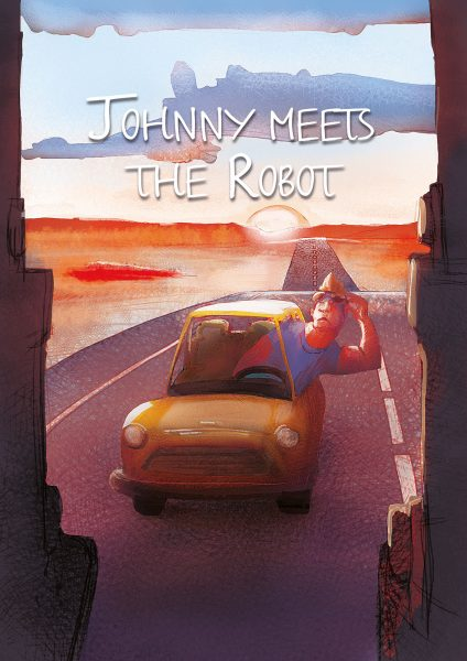 Johnny meets the robot
