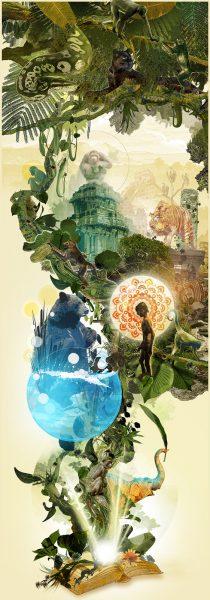 Official Jungle Book art