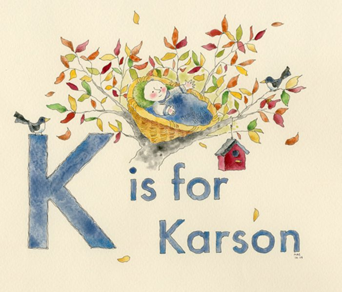 K is for Karson