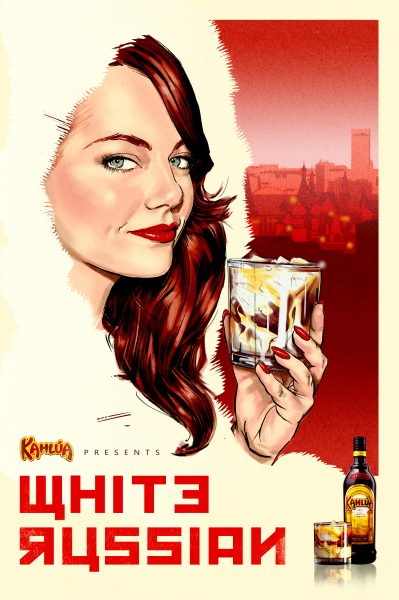 Kahlua presents WHITE RUSSIAN poster