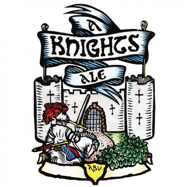 Knights Ale Pump Clip