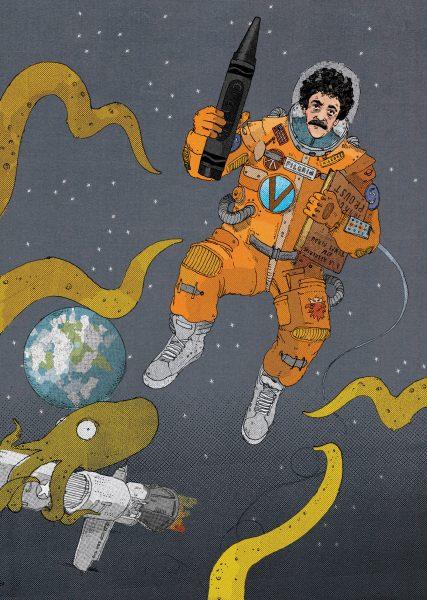 Kurt Vonnegut In Space