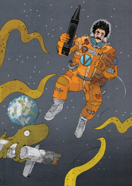 Kurt Vonnegut In Space