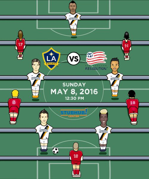 L.A. Galaxy Matchday Poster