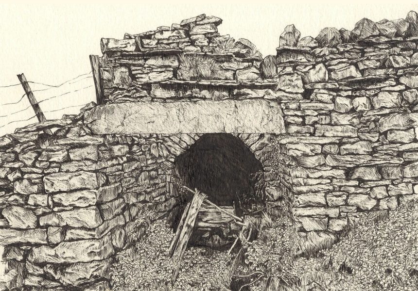 Lead mine in The Dales