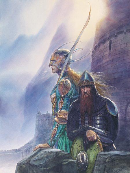 Legolas and Gimli at Helm's Deep