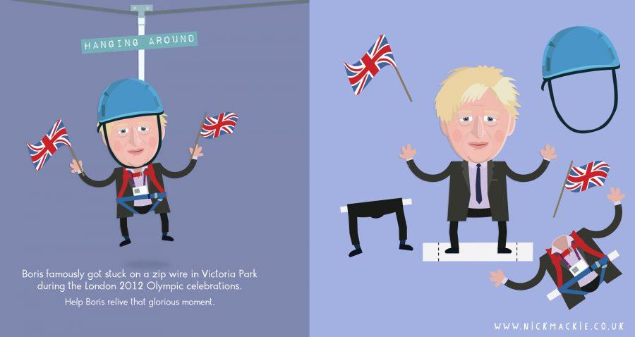Let's dress Boris! : The Boris Johnson Cut Out book
