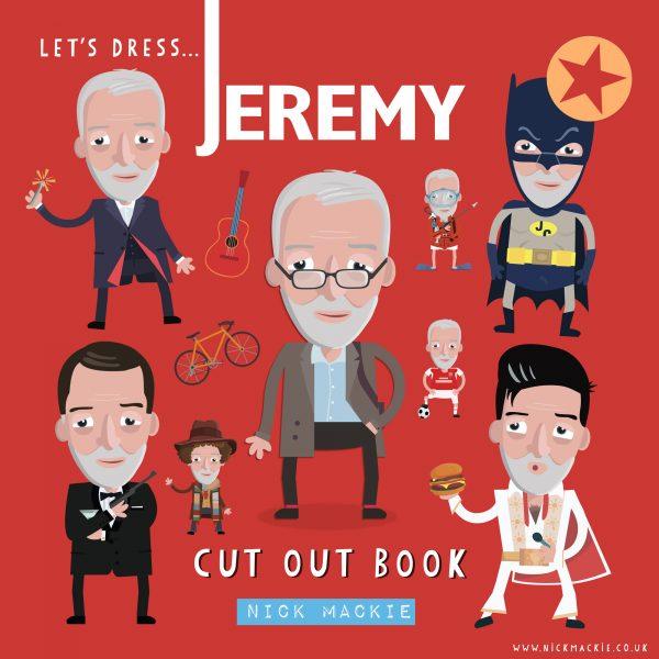 Let's dress Jeremy! : The Corbyn Cut Out book
