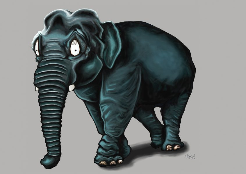 Lizzie the Elephant (Commissioned by Museums Sheffield)