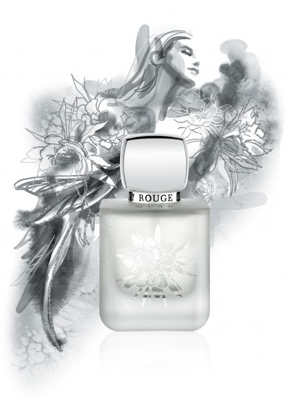 London-based Rouge Bunny Rouge Cosmetic Brand Muse Perfume Poster