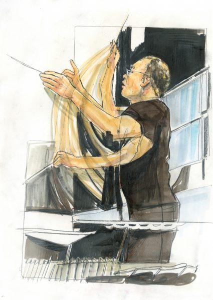 Lothar Koenig Meistersinger Rehearsal