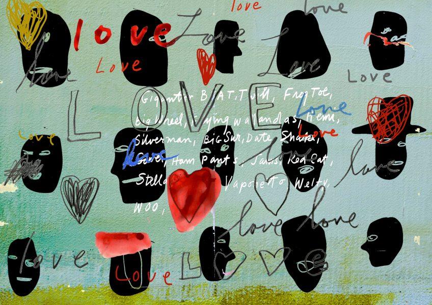Love Heads Print LA Eyeworks