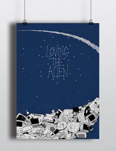 Loving The Alien Poster