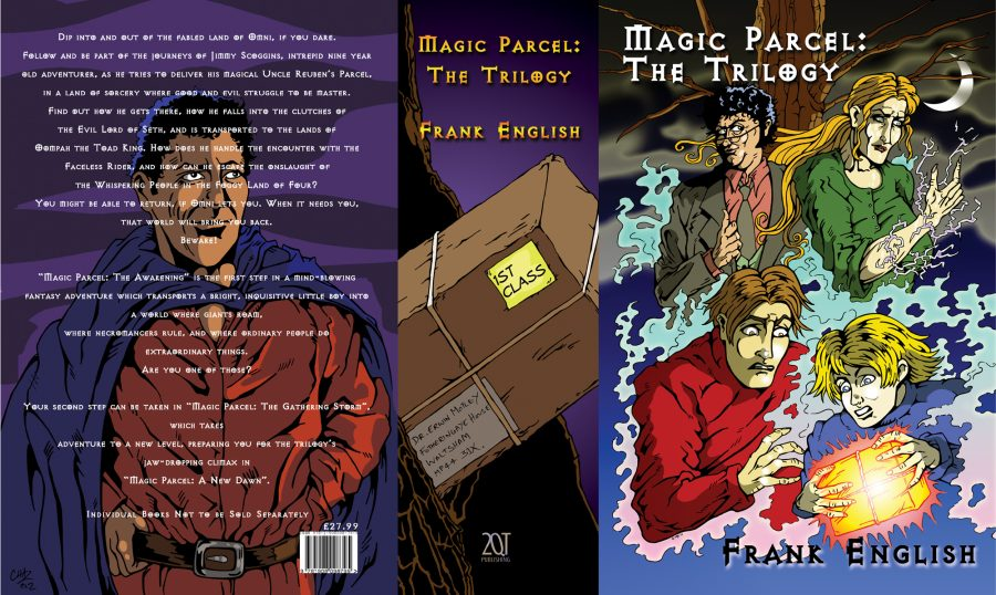 Magic Parcel Trilogy Box Set (wraparound)