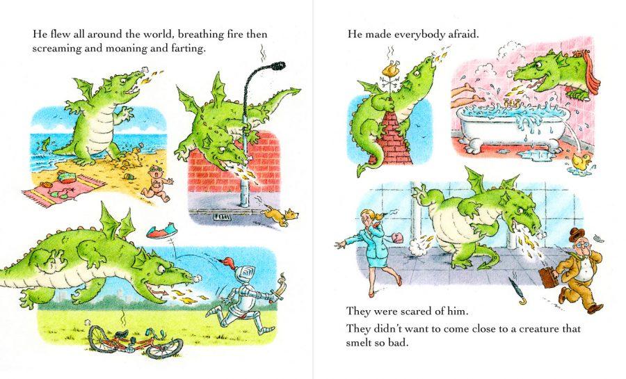 'Malpas the Dragon' spread