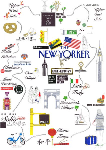 Manhattan'---Map