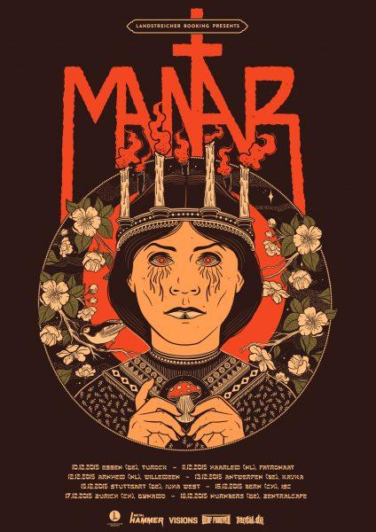 Mantar Tour Poster