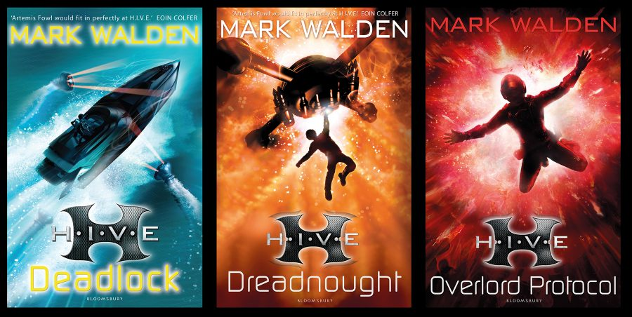Mark Walden Book Covers