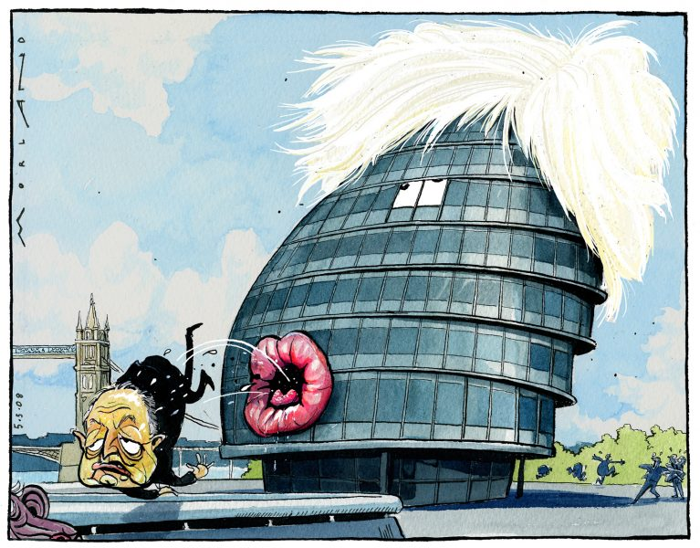 Mayor Boris Johnson / The Times