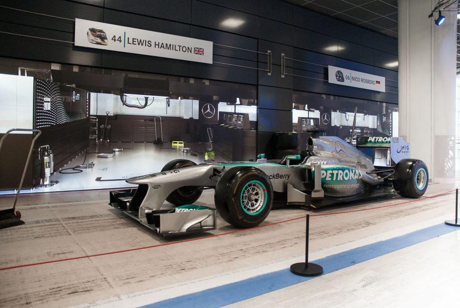 Mercedes Museum hitandrun