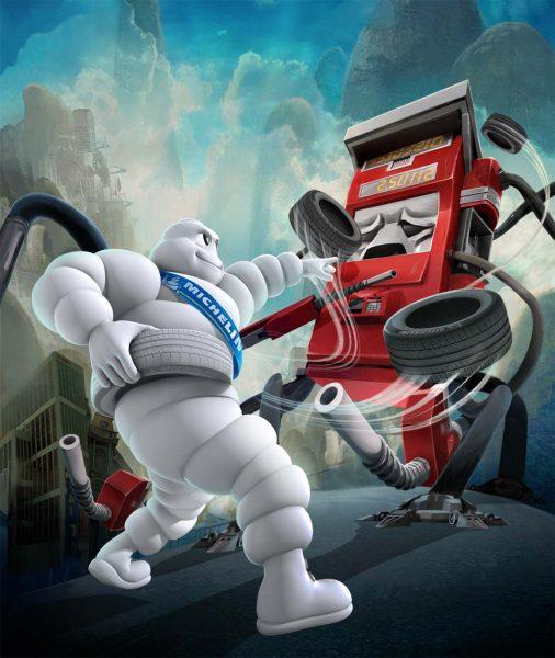 Michelin- Evil Gas Pump