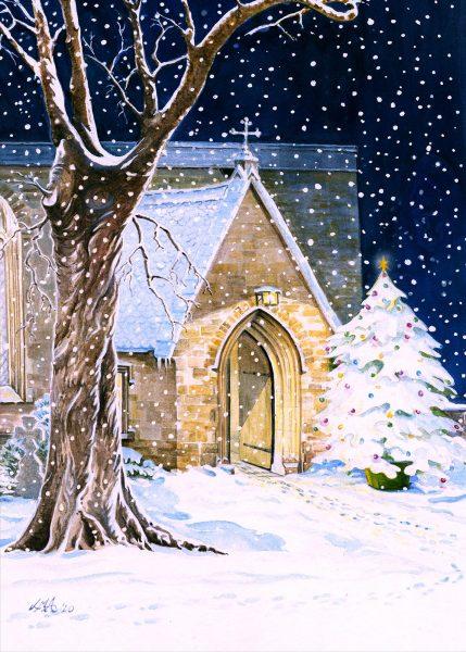 Midnight Mass on Christmas Eve