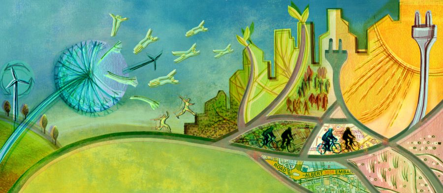 Migrating to Sustainable Cities