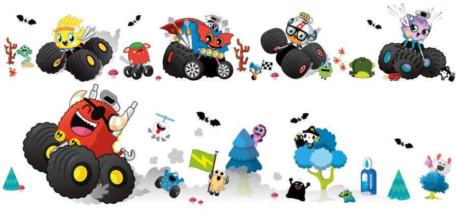 Monster Trucks Character Sheet