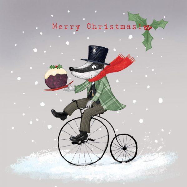 Mr Badgers Christmas pud