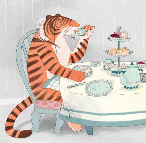 Mr Tiger at Tea