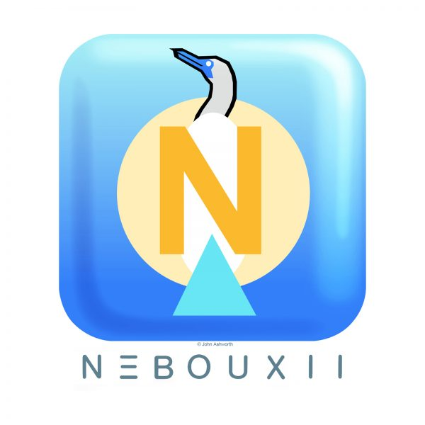 John Ashworth Nebouxii Bird Logo Corporate Hi Tec Medical Computer Futuristic Contemporary icon Symbol Brand Science & technology computer programming