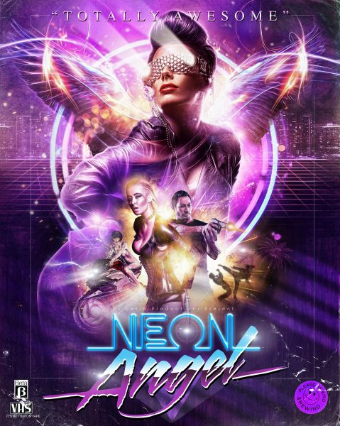 Neon Angel movie poster and logo