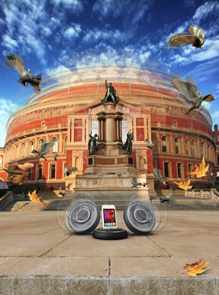 New Electronics Mag: Albert Hall Speaker Jive