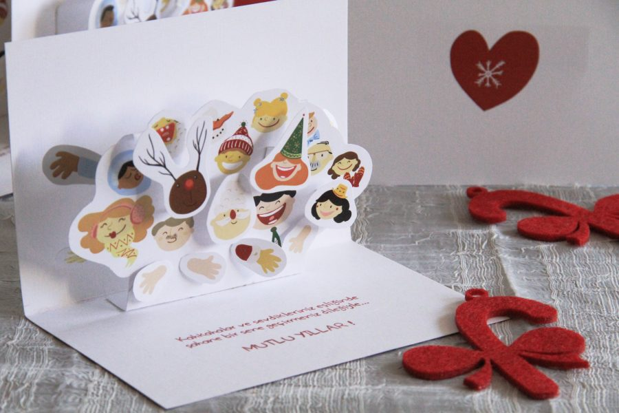 New Years Pop-up Card