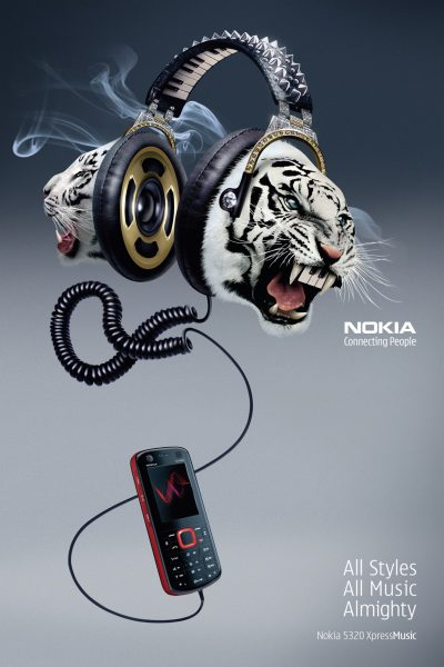 Nokia Music Almighty Headphones Tigers