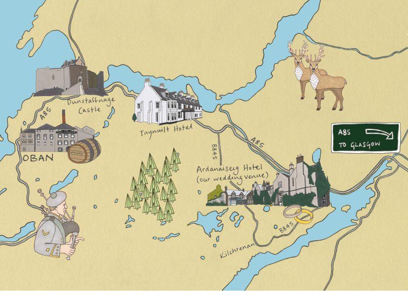 Oban Map