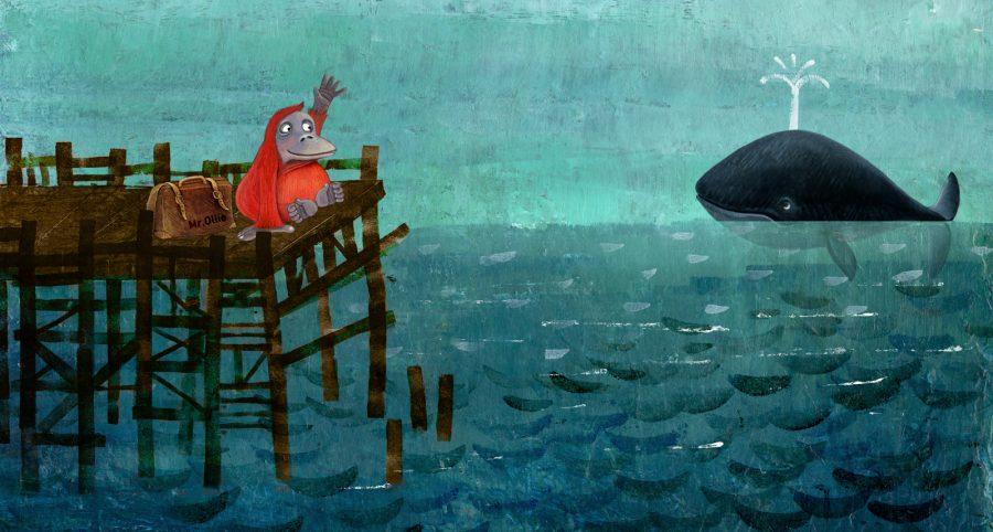 Oile meet the whale