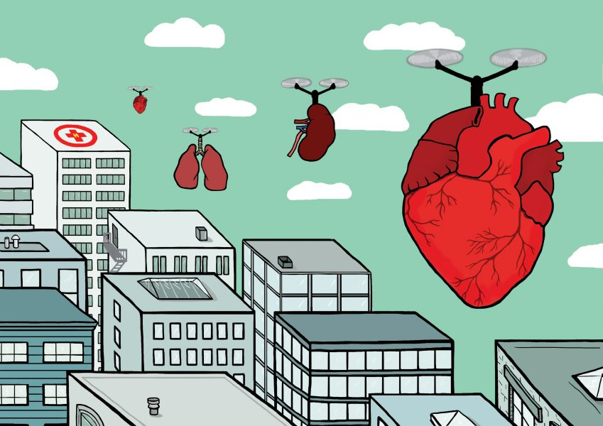 Organ Transplants - The Drone Revolution