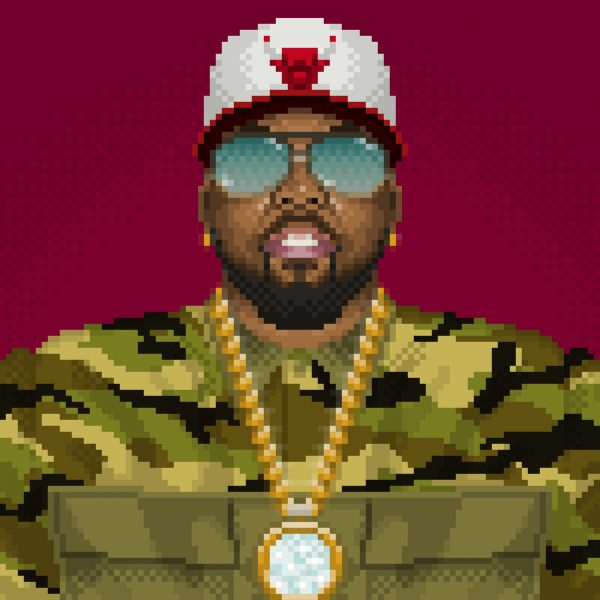 OutKast 20th Anniversary Big Boi Portrait