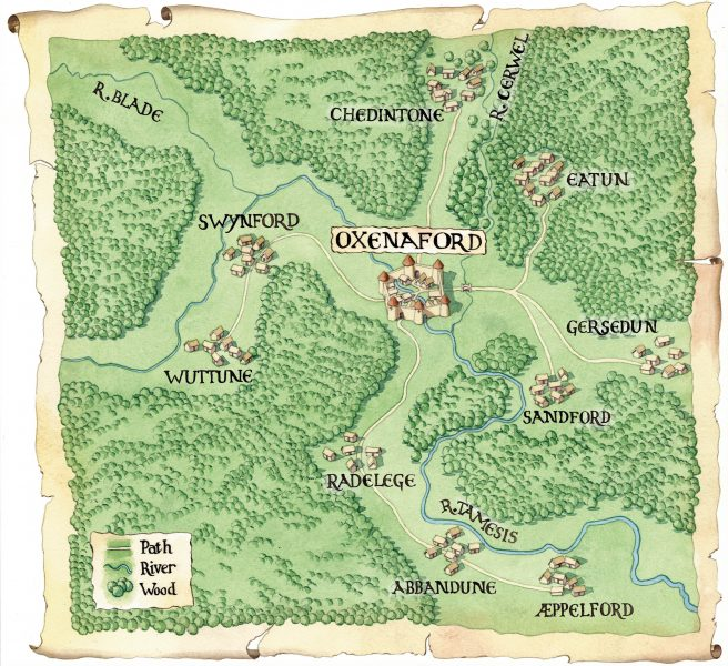 Oxenaford Map