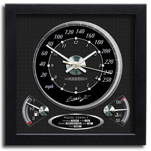 Pagani Zonda Clock