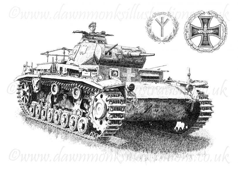 Panzer III Ausf�hrung D - Befehlspanzer